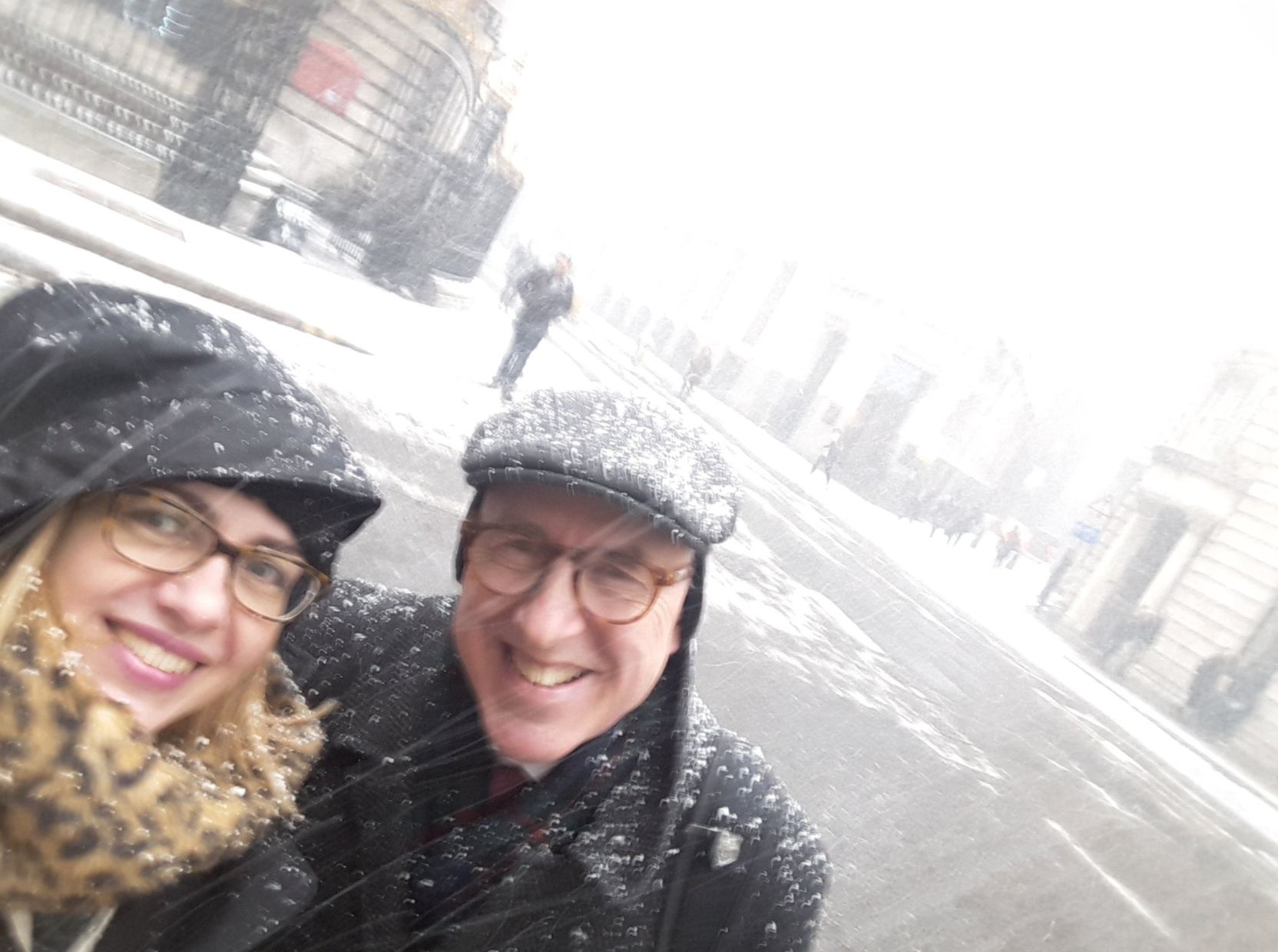 Battling The Snow For Whitereport Meetings